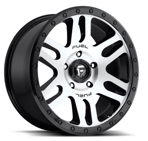 RECOIL – BLACK MACHINED (20×9″ – 6-139 +20)