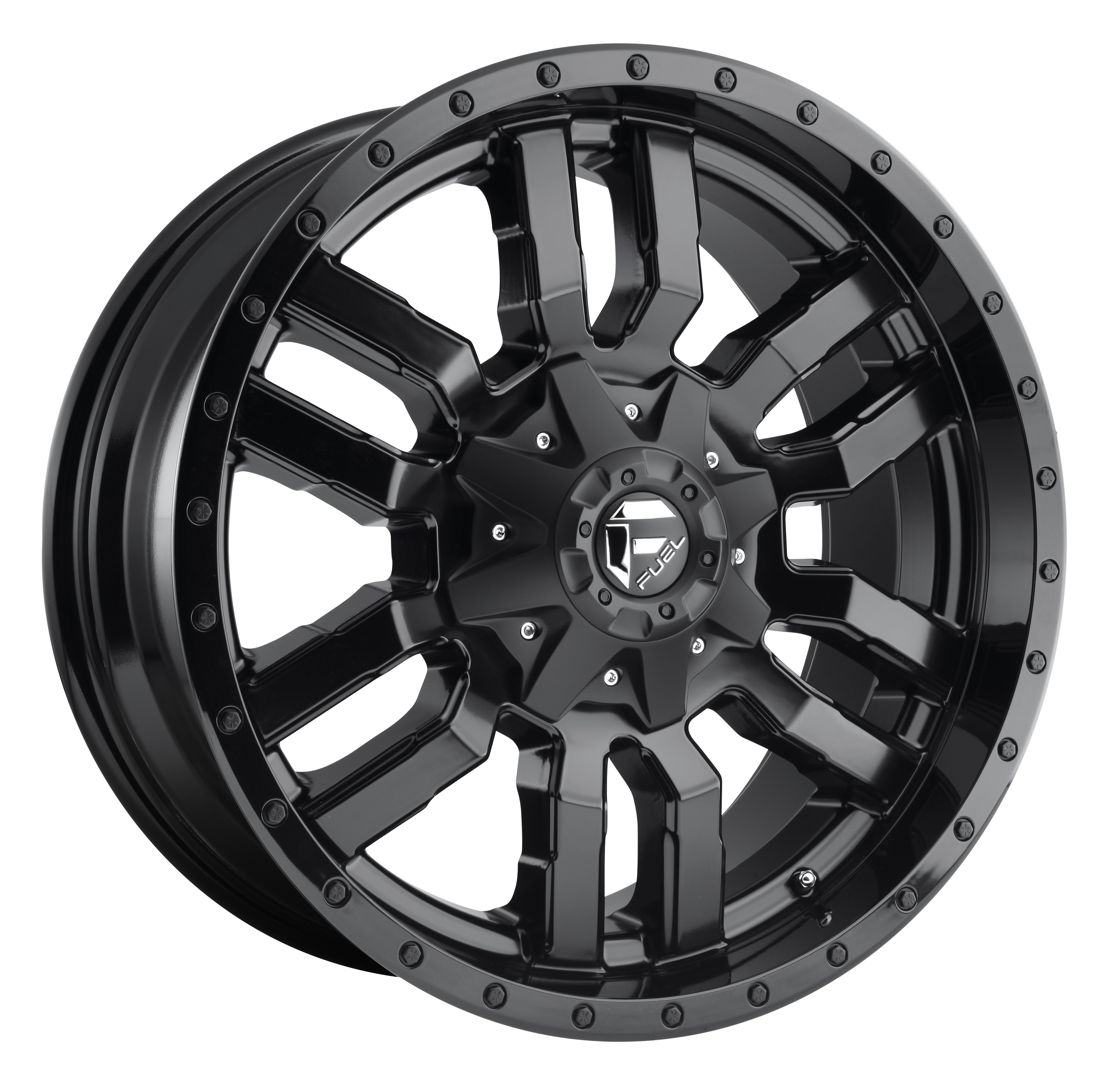 D596 | SLEDGE – MATTE BLACK WITH GLOSS LIP (20×9″ – 6-114 +35)