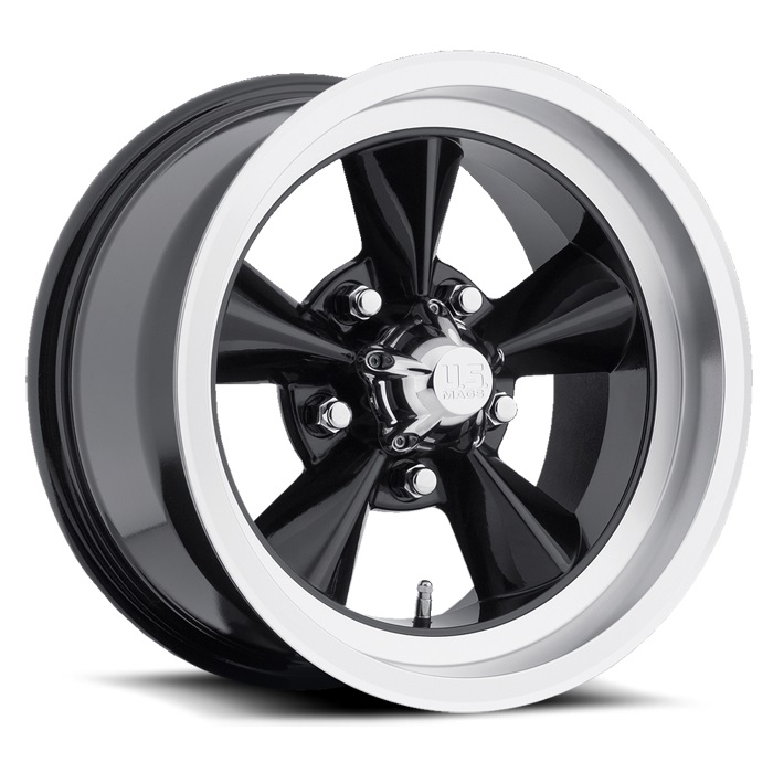 STANDARD – BLACK WITH MACHINED LIP (17×7″ – 5-114 +1)