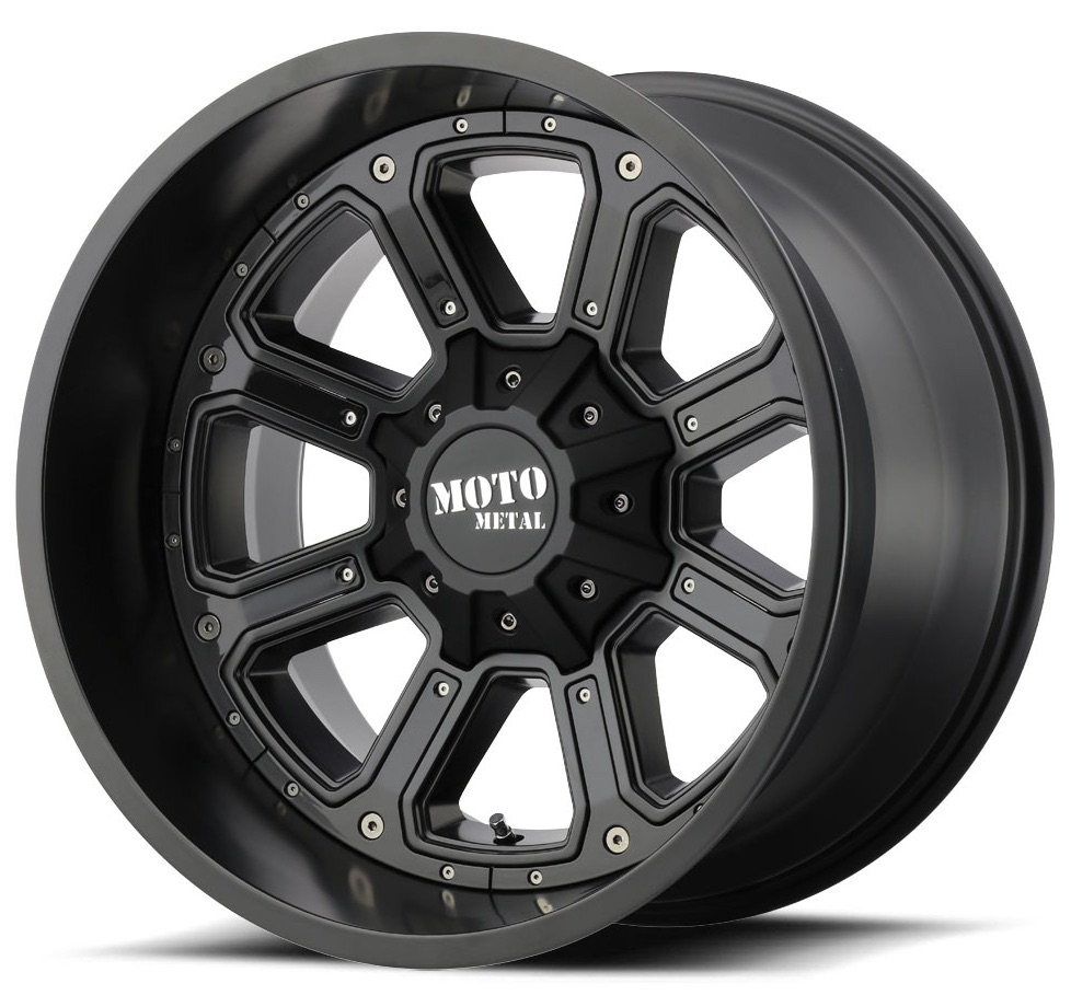 MO984 SHIFT – MATTE BLACK WITH GLOSS BLACK INSERTS (18×9″ – 6-139 +30)