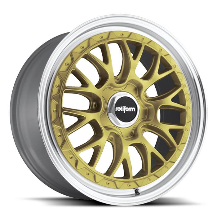 R156 | LSR – GOLD MACHINED (18×8.5″ – 5-112 +45)