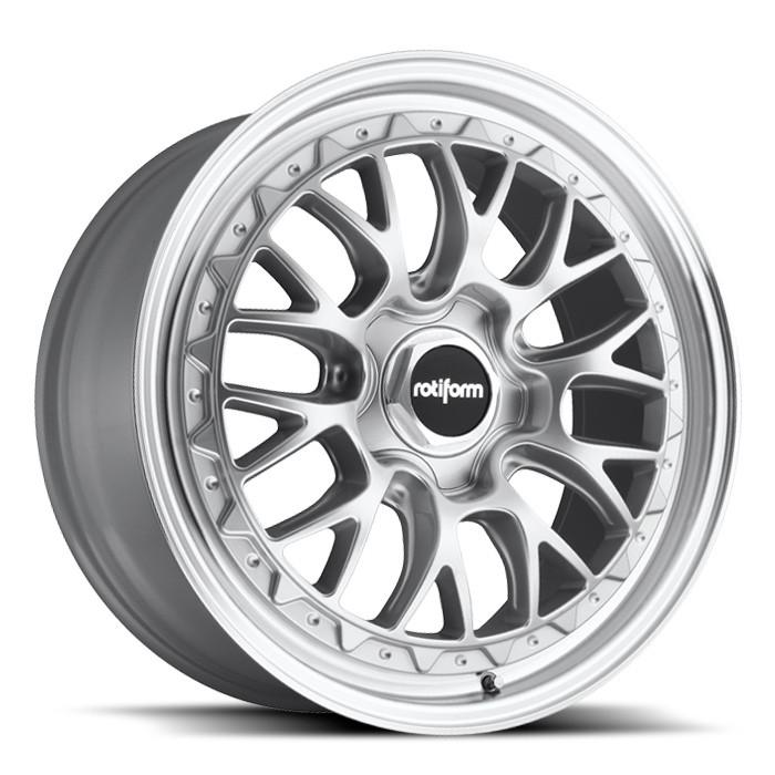 R155 | LSR MS – SILVER MACHINED (18×8.5″ – 5-112 +45)
