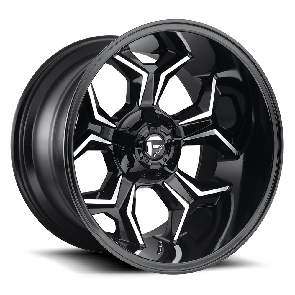 D606 | AVENGER – BLACK MILLED (20×9″ – 6-139 +1)