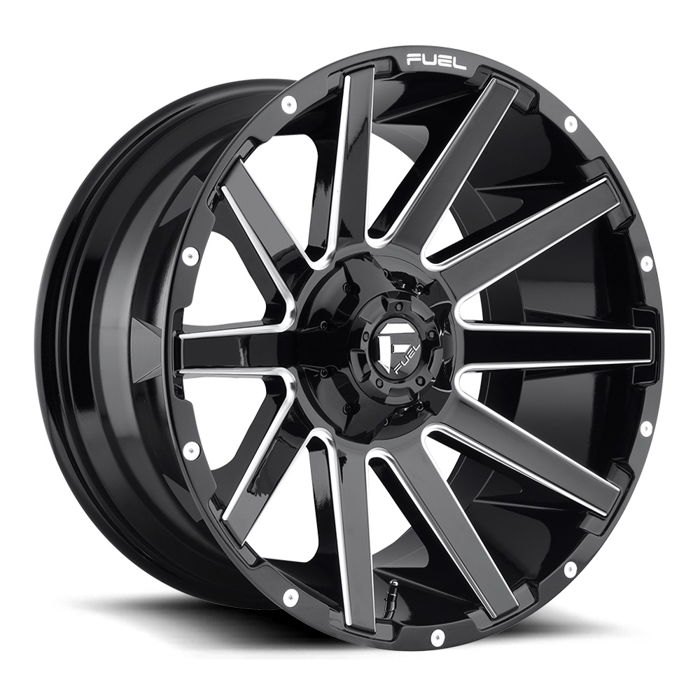 D615 | CONTRA – BLACK MILLED (22×10″ – 6-135 -18)