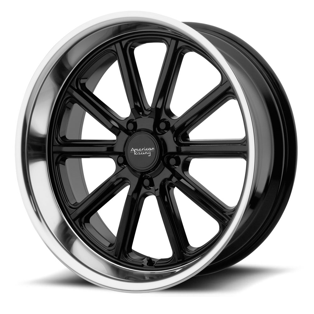 VN507 | RODDER – BLACK POLISH LIP (17×8″ – 5-114 +0)