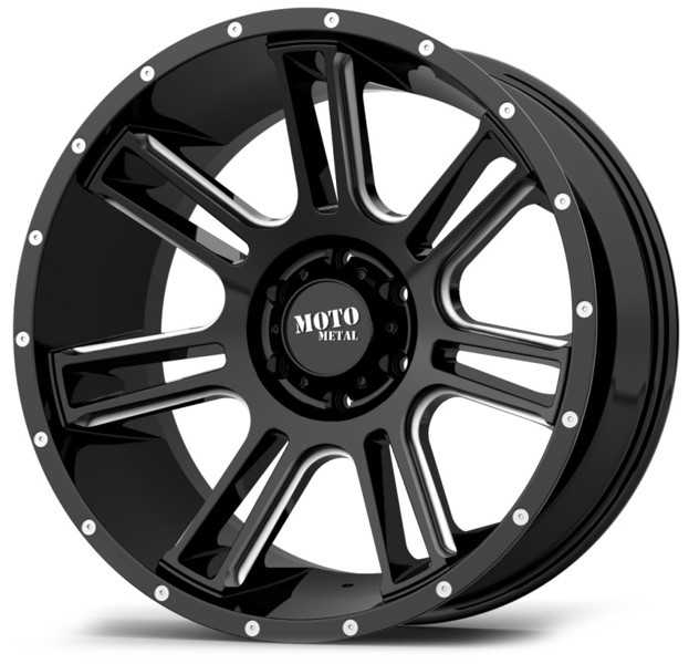 MO982 AMP – BLACK MILLED (20×9″ – 5-127 +0)