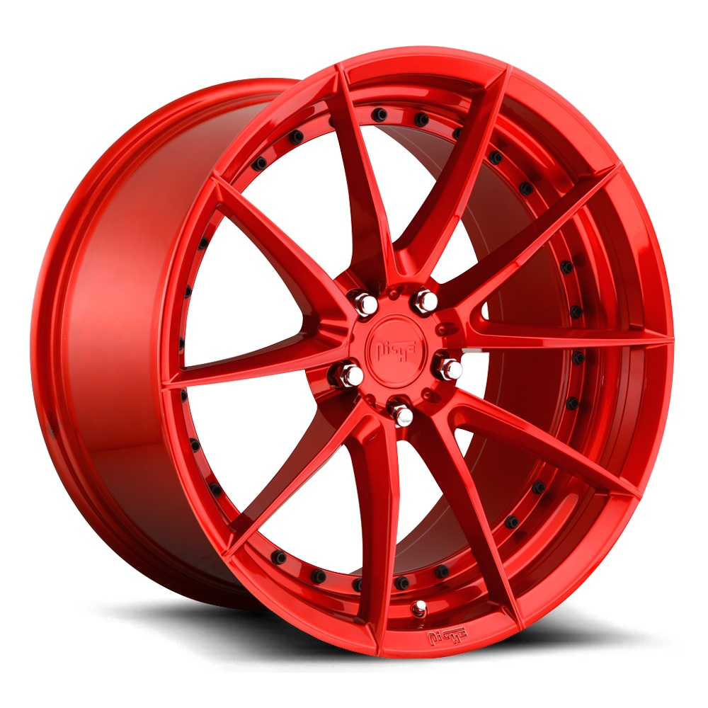 M213 | SECTOR – CANDY RED (19×9.5″ – 5-112 +48)