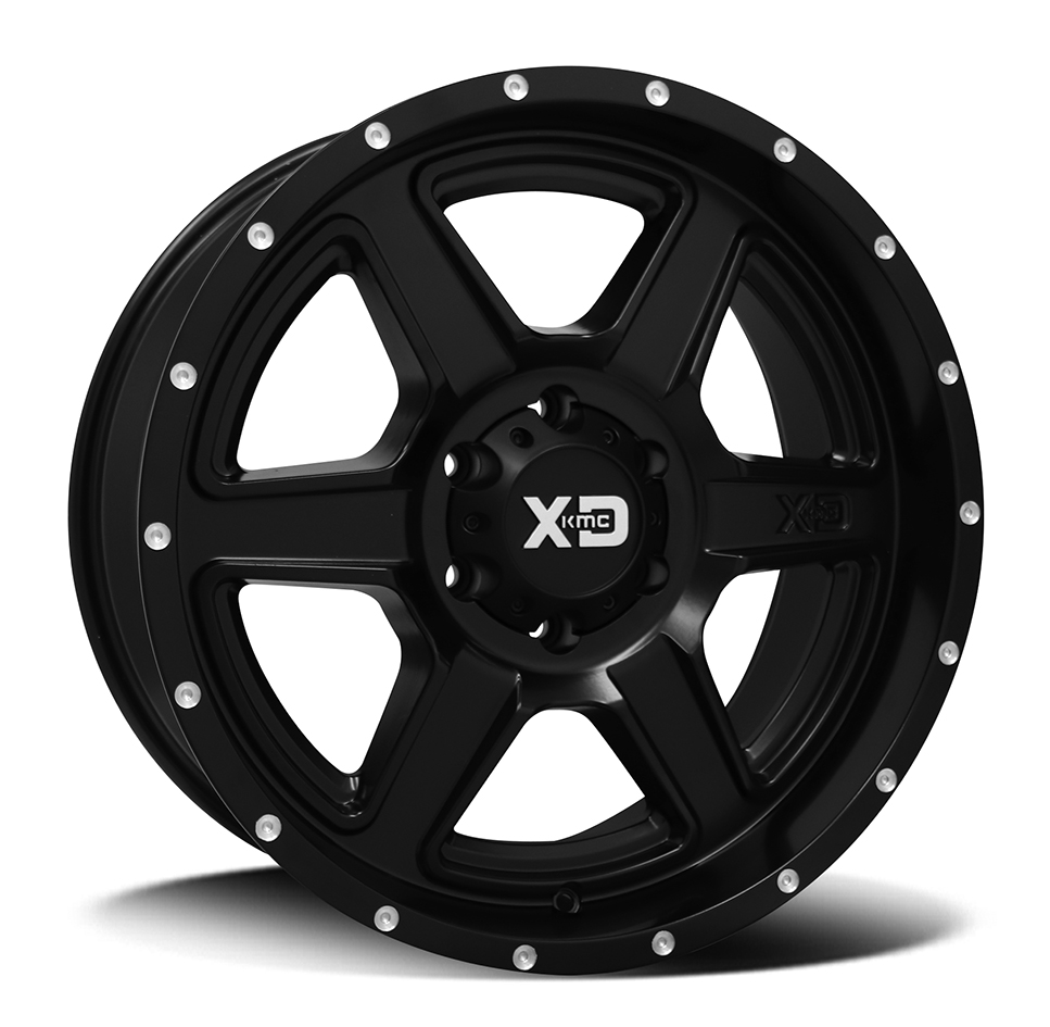 XD133 | FUSION – SATIN BLACK (17×8″ – 6-139 +25)